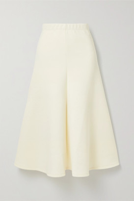 Beaufille Curie Jersey Midi Skirt - Cream