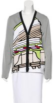 Balenciaga Abstract Button-Up Cardigan