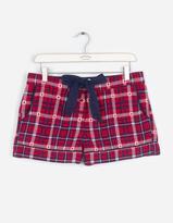 Fat Face Mini Star Jacquard Check Pyjama Shorts