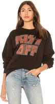Junk Food Clothing Kiss Off Sweatshirt