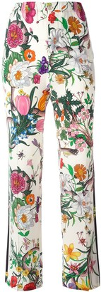 Gucci Flora Snake print trousers