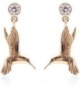 Theo Fennell Hummingbird Drop Earrings