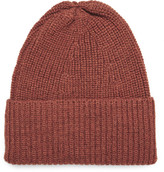 The Workers Club - Ribbed Mélange Merino Wool Beanie