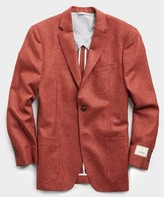 Todd Snyder Sutton Lambswool/Cashmere Sport Coat in Red
