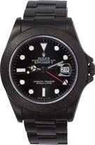 Black Limited Edition Matte Rolex Explorer II Watch
