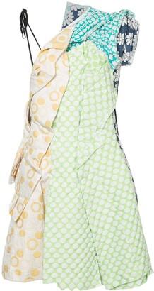 Comme des Garcons Pre-Owned patchwork dress