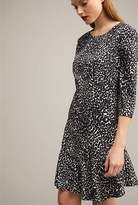 Witchery Longsleeve Animal Print Dress