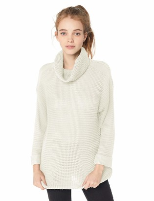 Jack by BB Dakota Junior's Catchin Feels Waffle Stitch Turtle Neck