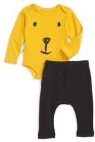 Infant Tiny Tribe Honey Bear Bodysuit & Track Pants Set