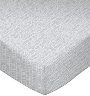 Lolli Living Animal Crackers Crib Sheet Bedding