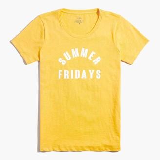 "J.Crew ""Summer Fridays"" graphic tee"