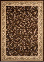 "Kenneth Mink KM Home Area Rug, Princeton Floral Brown 7'10"" x 10'2"""