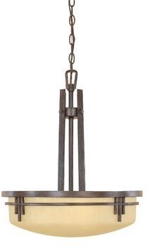 Millwood Pines Angulo 4 Light Unique Statement Bowl Pendant Finish Dark Antique Bronze Shopstyle Ceiling Lighting