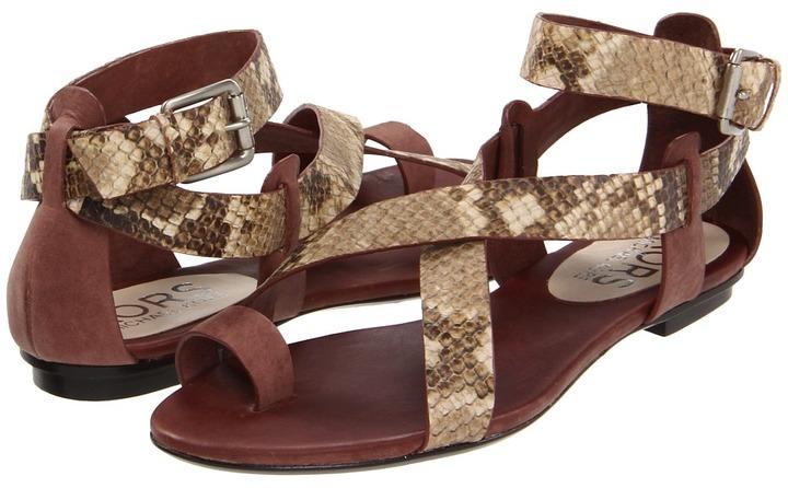 KORS Zeehan (Teak Nabuk Vachetta/Muslin Wild Python) - Footwear