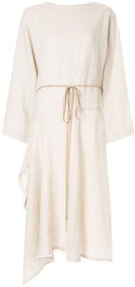 Seya. Asymmetric Belted Dress
