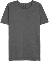 Maison Mihara Yasuhiro Distressed Grey Cotton T-shirt