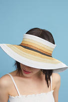 Anthropologie Striped Packable Visor