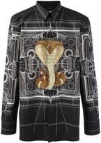 Givenchy cobra print shirt - men - Cotton - 39