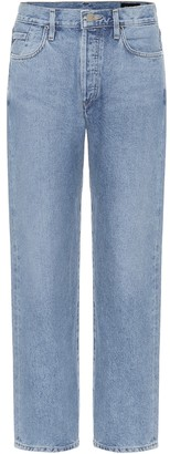 Gold Sign The Relaxed Straight mid-rise jeans