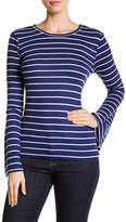 Tart Striped Bell Sleeve Shirt