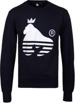Money Navy Sport Ape Crew Neck Sweatshirt