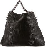 Thomas Wylde Embellished Leather Shoulder Bag