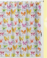 Creative Bath Flutterby Shower Curtain Bedding