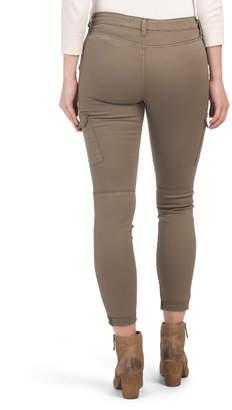 Juniors Twill Cargo Pants
