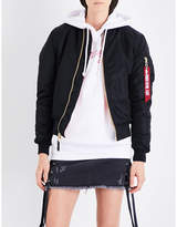 Alpha Industries MA-1 shell bomber jacket