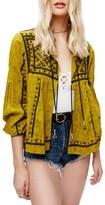 Free People Women's Twilight Embellished Cotton Jacket