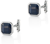 Monica Vinader Square Dumortierite Cufflinks