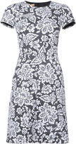Michael Kors floral print dress - women - Silk/Cotton - 2