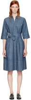 A.P.C. Indigo Oleson Dress