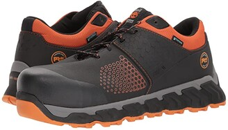 Timberland Ridgework Composite Safety Toe Waterproof Low (Black) Men's Work Lace-up Boots