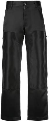 Nomia stitch detail ankle trousers