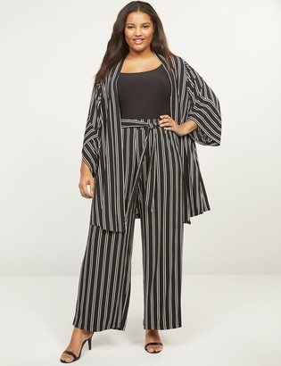 Lane Bryant Matte Jersey Wide Leg Pull-On Pants