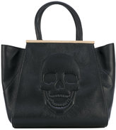 Philipp Plein skull tote bag - women - Leather/Suede - One Size