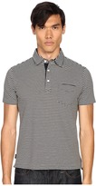 Jack Spade Warren Stripe Polo Men's Clothing