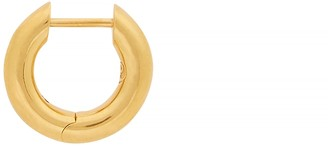 All Blues Almost 18kt gold-plated single hoop earring