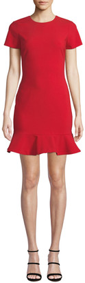 LIKELY Beckett Flounce Tee Dress