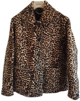 Burberry Beige Shearling Jackets