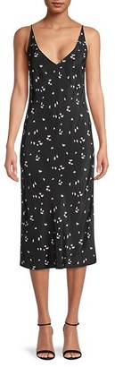 Thakoon Floral Midi Slip Dress