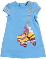 Little Marc Jacobs Roller Skates Light Sweatshirt Dress
