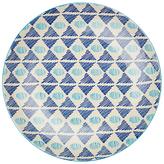 Pols Potten Dakara 20cm Plate, Triangle Blues