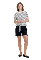 Country Road Draw String Stripe T-Shirt