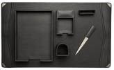 Bey-Berk Leather Desk Set (6 PC)