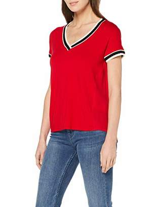 Mexx Women's Blouse, Tango Red 191761, X-Small