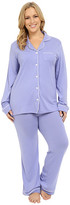 Cosabella Plus Size Bella PJ Long Sleeve Top and Pants PJ Set