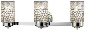 Dale Tiffany Springdale Alps 3-Light Mosaic Vanity Lights