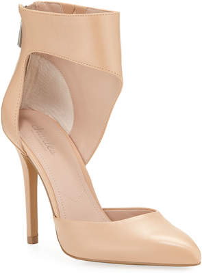Charles by Charles David Proud Leather Ankle-Cuff Pumps